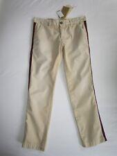 $268 NWT CURRENT ELLIOTT Khaki Buddy SideStripe Crop Trouser Pants YOOX Rare! 25