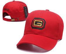 Classic red GUCCI baseball cap GG fashion casual hat sun hat outdoor hat