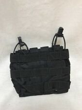 LBT-6146B Modular Double Mike-4 Speed Draw Pouch Black w/S&S pull LE Duty