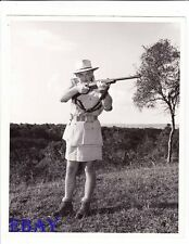 Clark Gable w/gun Mogambo VINTAGE Photo