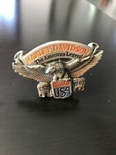 boucle ceinture Harley Davidson  (official licensed product 1991 H409)