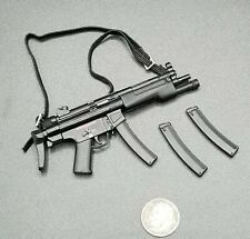 "1:6 Dragon MP5 Submachine Gun w/ Ammo Mags 12"" GI Joe BBI Hot DamToys SWAT SEAL"