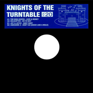 Knights Of The Turntable Vol 20: Awesome 3 – Don't Go / Helicopter – On Ya Way /