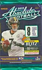 2019 Panini Absolute Football Relic OR  Autograph card HOT PACK.