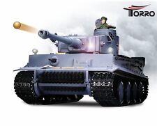 RC Panzer Tiger I TORRO-Edition 2,4 GHz 1/16 Metallgetriebe Rauch Sound Schuss