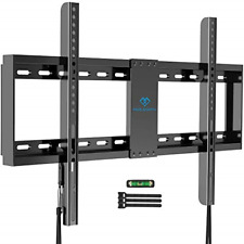 PERLESMITH Fixed TV Wall Mount Bracket Low Profile for 32-82 inch LED, LCD,and -