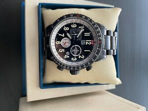 ESQ Movado Mens Watch 7301239 Beacon Chronograph Black PVD Watch