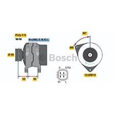 ORIGINAL BOSCH Generator 80A Toyota Avensis ua. Bj.00- - 0 986 042 660