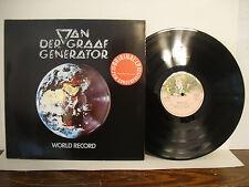 Van Der Graaf Generator, World Record, 1976 Charisma Records, Germany, 9124001