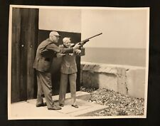Mary Hartline With Shooting Instructor. Autographed To Buyer-MHD❤ORIGINAL 100%