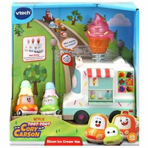 vTech Toot-Toot Cory Carson Eileen Ice Cream Van 2 Playzone Vehicles inc Chrissy
