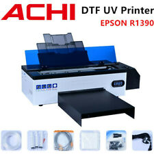 Dtf Uv Printer Direct To Film T Shirt Flatbed Heat Transfer Printer Epson R1390
