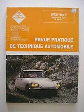revue technique automobile neuve RTA CITROEN DS série D ( spécial,super,super5 )