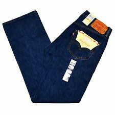 Levi's Blue Mens Size 32 Classic 501 Button-fly Straight Leg Jeans 078
