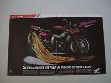 advertising Pubblicità 1992 MOTO HONDA NSR 125 F RAIDEN