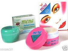 2 THAI MENA CREAM Skin Whitening Acne Dark Spot Blemish Aging Original Cream