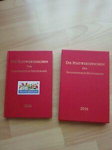 Postwertzeichen der Bundesrepublik Deutschland 2016 Briefmarken Jahrbuch neuw.