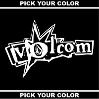 "24"" 2FT Volcom Stone Vinyl Sticker / Decal *Skateboarding*Snowboarding*Surfing*"