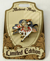 Disney Collector Pin Medieval Magic Mickey Knight LE 1000 Disneyland