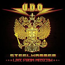Steelhammer Live from Moscow [CD/DVD] [Digipak] by U.D.O. (CD, May-2014, 3 Discs, AFM Records)