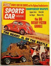 SPORTS CAR GRAPHIC Jan 1968 VW Beetle Volkswagen Dune Buggys