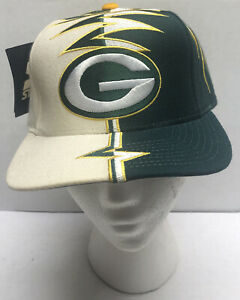 Vintage Starter NFL Pro Line Green Bay Packers Shockwave Hat Brand NEW 90s Cool