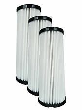 (3) Dirt Devil F1 Bagless Upright Vision Pleated HEPA filter, Breeze, Feather...