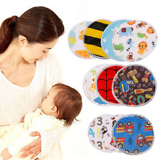 4X Reusable Soft Waterproof Breast Nursing Feeding Pad Maternity Washable Pads