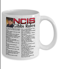 NCIS gibbs rules 69 rules coffee mug Merry Christmas Mug Funny White Coffee Mug