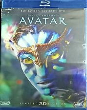 AVATAR-LIMITED 3D EDITION + BLU RAY +  IL DVD
