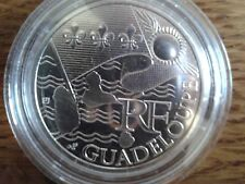 france 10 euros argent 2010 guadeloupe