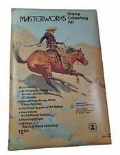 Masterworks Stamp Collecting Kit MW-2 The Cowboy (sealed and unopened)**
