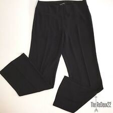 Eileen Fisher Pants Size 8 Black Polyester Front Zipper Closure Career Casual