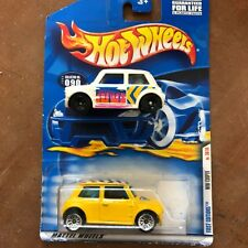 Hot Wheels 2 mini copper first edition 24586 Morris mini j29 New and used