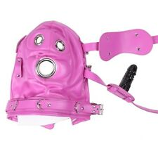 PINK Total Lockdown, faux LEATHER, Lockable with 3 padlocks UK POST!