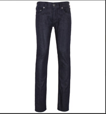 True Religion Rocco Midnight Blue Relaxed Skinny Jeans Trouser, W38/L34 RRP-£155