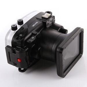 40m/130ft Waterproof Underwater Housing Case Fr Fujifilm Fuji X-A2 16-50mm Lens