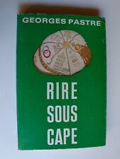 GEORGES PASTRE : RIRE SOUS CAPE - collection MIDI-OLYMPIQUE 1975 - Rugby