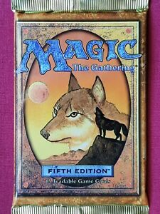 Magic The Gathering 5TH EDITION FIFTH New Sealed Booster Pack MTG