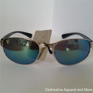 New Chiliwear Sunglasses Metal Frame Blue Mirror Lens