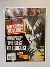VINTAGE - KISS Magazine - Circus - March 1994 WITH POSTER