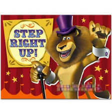 Madagascar 3 Invitations (8) ~ Birthday Party Supplies Stationery Invites Cards