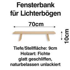 Schwibbogen Bank 70 cm Erhöhung Lichterbogen Fensterbank