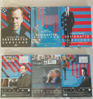 Designated Survivor : The Complete Series Seasons 1-3 1 2 3 (DVD Box Set) New