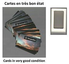 Desjardins Caisse Populaire Jeu de Cartes en très bon état (Bank collectible)
