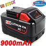 48-11-1890 for Milwaukee M18 18-Volt 18V LITHIUM ION HD 9.0 Ah FUEL Battery Pack