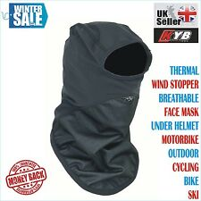 Windproof Motorbike Motorcycle Thermal Balaclava Ski Face Mask Under Helmet Neck