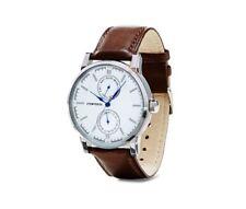 TCM Tchibo Multifunktionsuhr Herren Uhr Armbanduhr Echt Leder Ausverkauft NEU