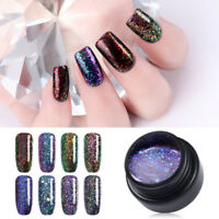 5ml Soak Off Nail UV Gel Polish Galaxy Starry Chameleon Flakies Varnish UR SUGAR