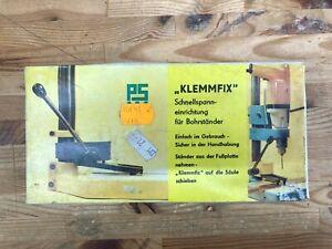 Klemmfix Schnellspanneinrichtung für Bohrständer